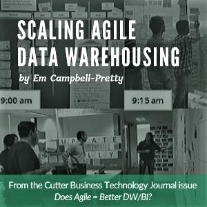Scaling Agile Data Warehousing