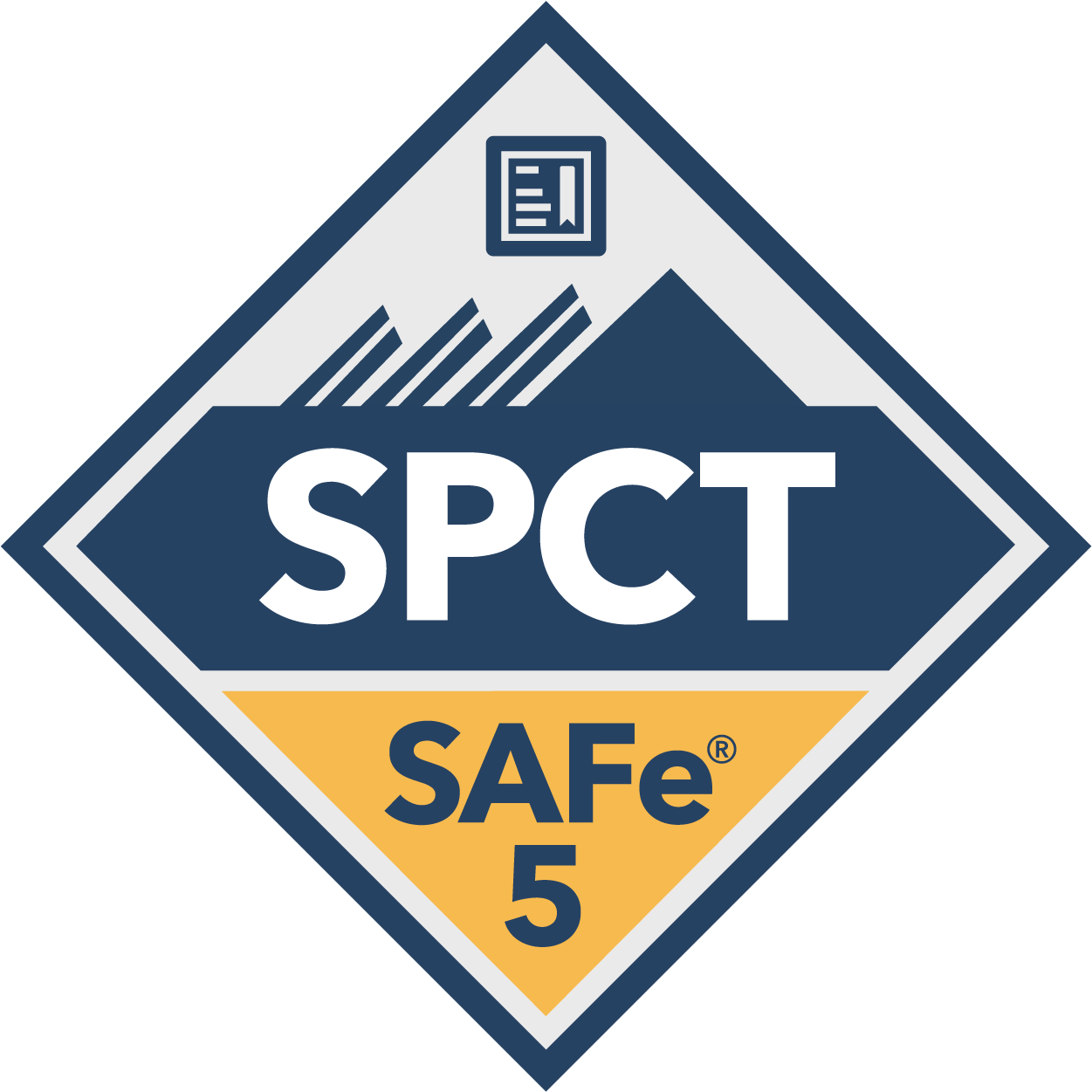 SAFe Program Consultant Trainer SPCT Digital Badge