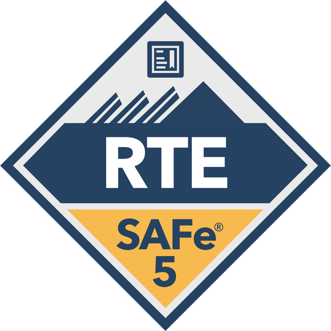 SAFe Release Train Engineer RTE certification