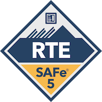 SAFe Release Train Engineer RTE Digital Badge