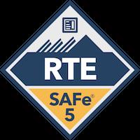 SAFe Release Train Engineer RTE Digital Badge