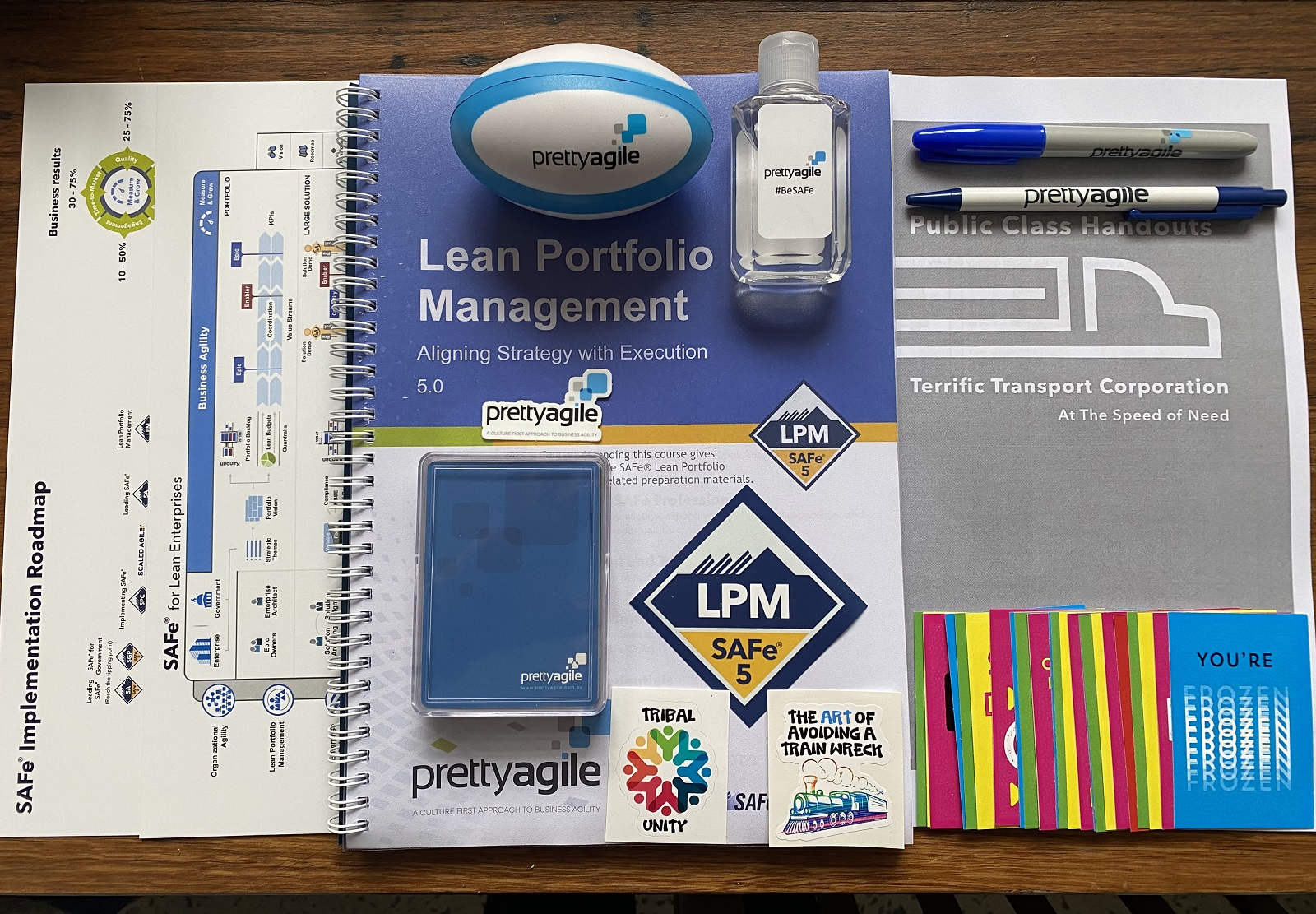 Lean Portfolio Management Training Kit